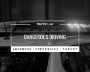 QLD Traffic Law - Dangerous Driving
