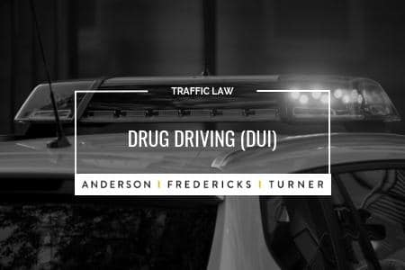 QLD Traffic Law - Drug Driving DUI