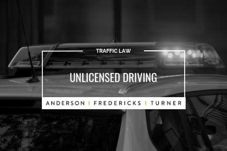 QLD Traffic Law - Unlicensed Driving