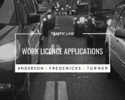 QLD Traffic Law - Work Licence Applications