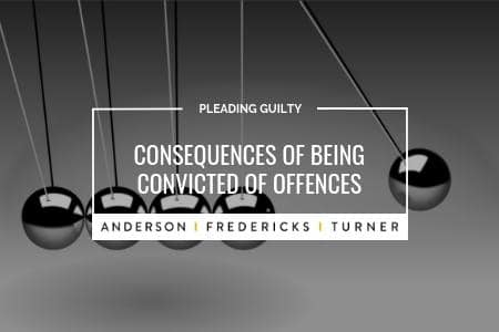 Consequences of Being Convicted of Offences