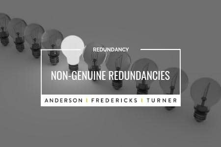Non-Genuine Redundancies