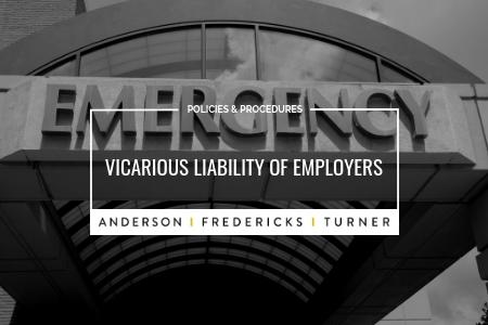 Vicarious Liability of Employers