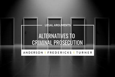 Alternatives to Criminal Prosecution
