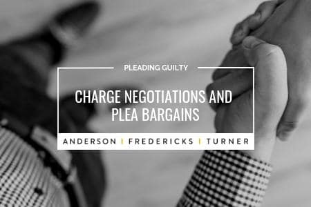 Charge Negotiations and Plea Bargains