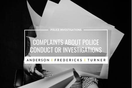 Complaints about Police Investigations